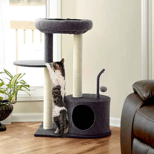 FEANDREA bottom condo cat tree